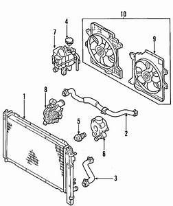 Radiator  U0026 Components For 2012 Ford Escape