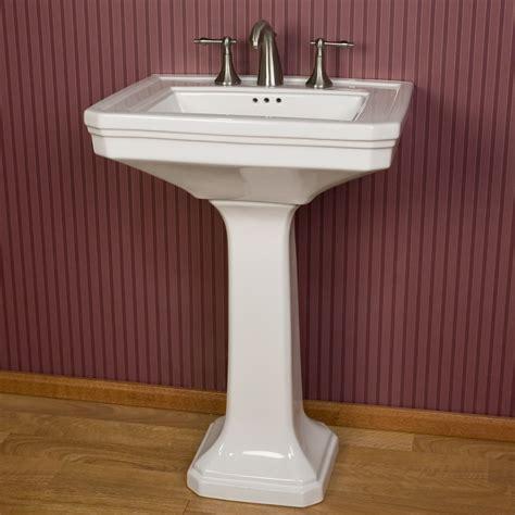 Pedestal Sink by Signature Hardware Kacy Porcelain Pedestal Sink Ebay