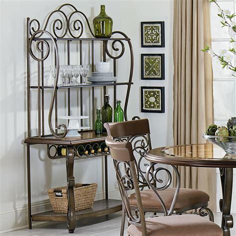 Standard Furniture Bombay 13429 Ornate Bakers Rack