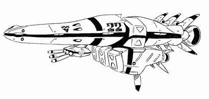 Garfish Class Cruiser Dimensional Super Sdcl Robotech