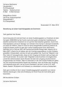 Bewerbung Zur Ausbildung : muster bewerbung als erzieherin erzieher ~ Eleganceandgraceweddings.com Haus und Dekorationen