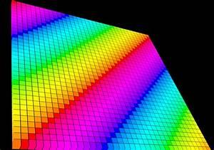 Color Grid  Sunflow Render