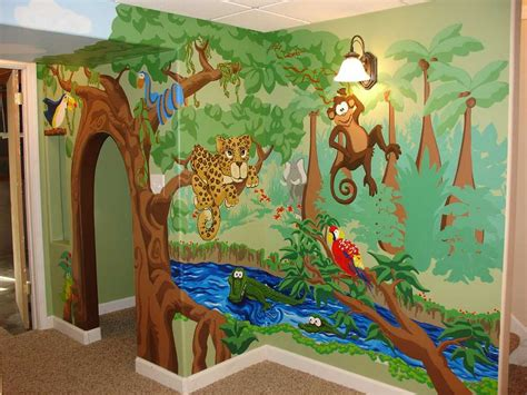 Wallpaper With Animals For Rooms - animal themed children s bedrooms jungle and design