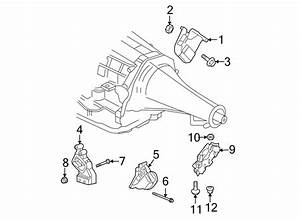 Dodge Ram 1500 Automatic Transmission Mount  Body