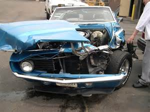 Wrecked Classic Muscle Cars