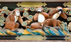 Statue Singe De La Sagesse : singes de la sagesse wikip dia ~ Teatrodelosmanantiales.com Idées de Décoration
