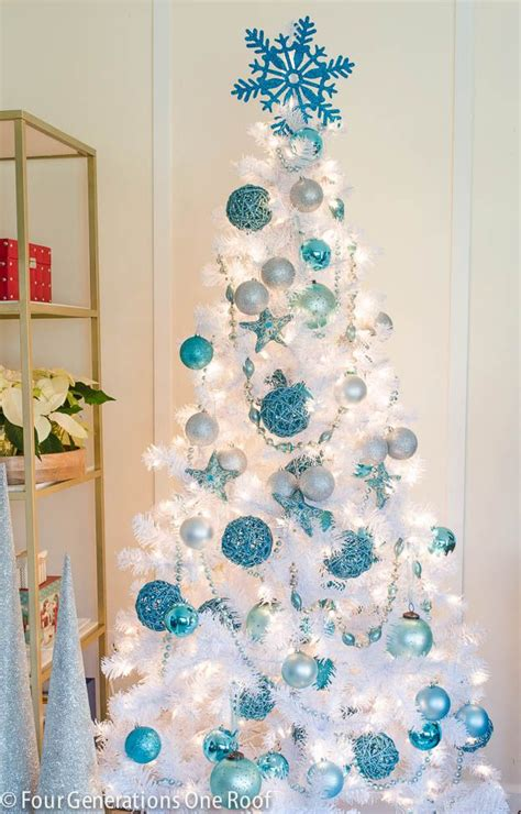Ideas Decorating White Tree by Our Blue White Tree Trees