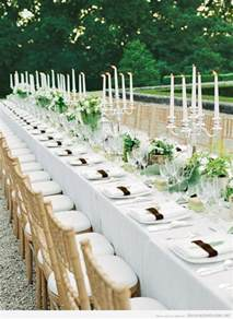 Long Table Wedding Reception Ideas