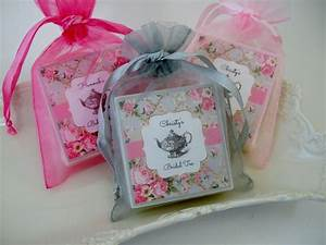 tea party bridal shower favors baby shower favors set of With party favors for wedding shower