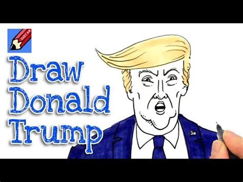 draw donald trump real easy shoo rayner author