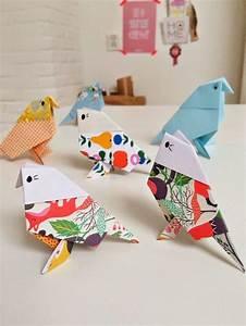 Origami Maison En Papier : les 25 meilleures id es de la cat gorie oiseaux de papier ~ Zukunftsfamilie.com Idées de Décoration