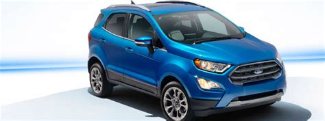 2019 Ford Ecosport Release Date