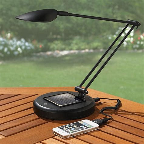 solar rechargeable reading l to charge your electronic
