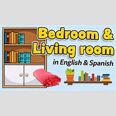 Bedroom And Living Room Vocabulary  English And Spanish