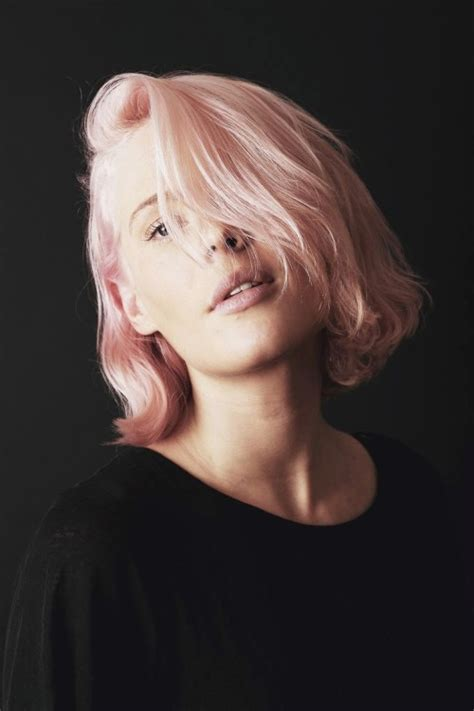 Beauty Hair Colour Hair Style Color Pastel Short Hair Pink