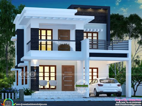 lakhs cost estimated double storied home kerala home