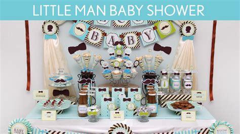 Little Man Baby Shower Ideas Cimvitation