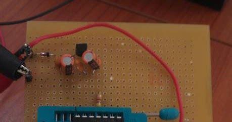 ham radio mipl pic16f688 digital voltmeter