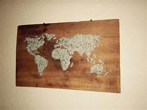 Weltkarte Bild Holz : die besten 25 do it yourself weltkarte ideen auf ~ Lateststills.com Haus und Dekorationen