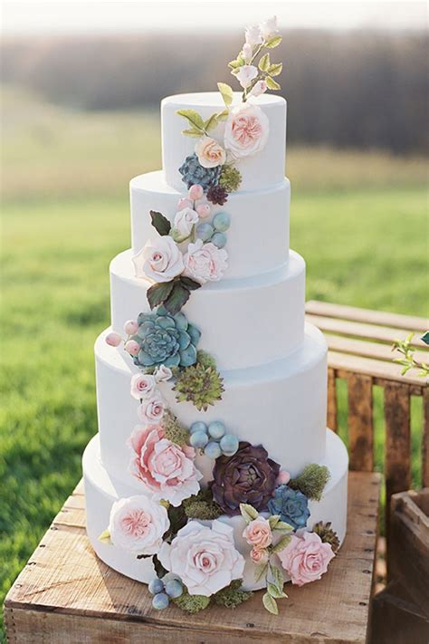 25 best ideas about spring wedding cakes on pinterest