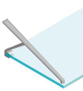 supporto mensola vetro supporto a braccio mensole in vetro per pareti attrezzate