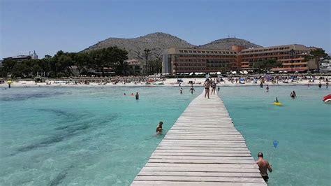 Alcudia Beach Youtube