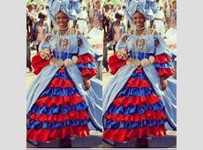 Traditional Haitian masqueraders 2013 kanaval des fleurs