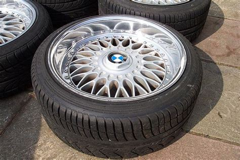 purchase bbs bmw style  split rim wheel stainless steel
