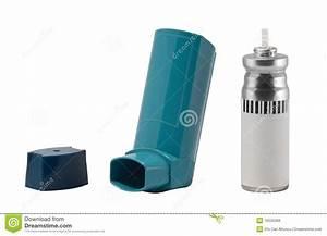 Asthma Inhaler Royalty Free Stock Image
