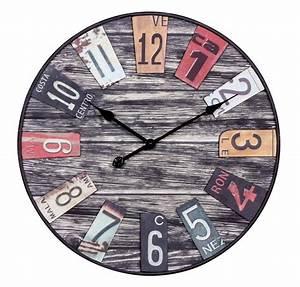 Wanduhr Holz Vintage : finebuy wanduhr xxl 60 cm big time design k chenuhr vintage look alte schilder bahnhofsuhr ~ Indierocktalk.com Haus und Dekorationen