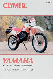 Clymer Repair Manual For Yamaha Xt350 1985