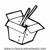 Cibo Colorare Colorear Comida Andare Disegni Pagina Wok China Ir Dibujo Coloring Ultracoloringpages sketch template