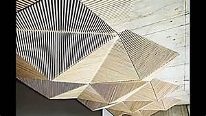 Abgehängte Decke Anleitung : abgeh ngte decke gestaltungsidee von der origami kunst inspiriert youtube ~ Eleganceandgraceweddings.com Haus und Dekorationen