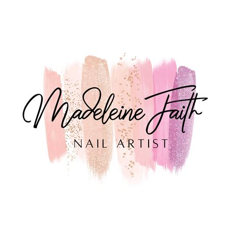 Nail Artist Logo Logo Design Nail Salon Logo Gel Nail logo ...