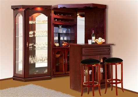 Corner Mini Bar  Nana's Workshop