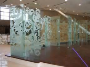 Sand Blasted Glass Pattern