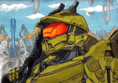 Master Chief By Shadesoflove On Deviantart