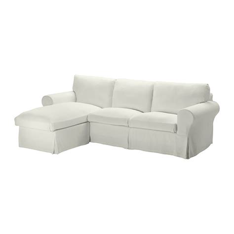 Chaise En Plastique Ikea by Ektorp Cover For Loveseat With Chaise Sten 229 Sa White Ikea