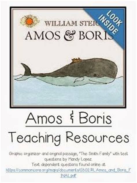 The {4th Grade} Journey Mentor Text Linky Amos & Boris