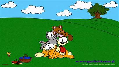 Windows 98 Plus 95 Wallpapers Microsoft Garfield