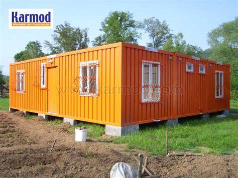 maison container conteneur chantier bureau sanitaire karmod karmod