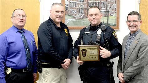 Cambridge police names Officer of the Year - News - The ...