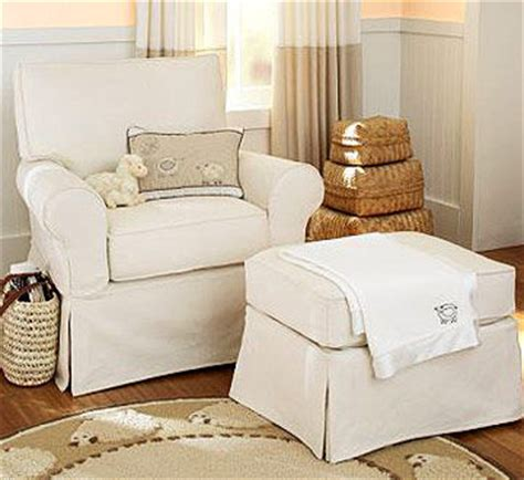 pottery barn glider rockers beyond the nursery