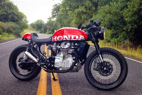 racing caf 232 honda cx 500 1980 by mike meyers