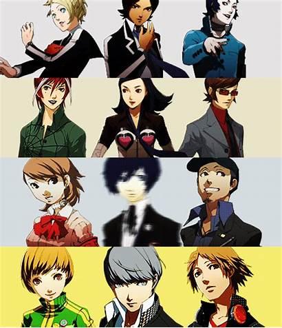 Persona Characters Smt Series Games Tensei Shin