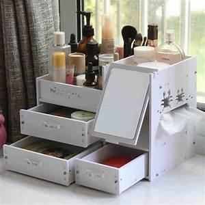 Rangement Maquillage Tiroir : maquillage tiroirs de rangement promotion achetez des ~ Nature-et-papiers.com Idées de Décoration