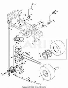 Mtd 13ac76lf055  2012  Parts Diagram For Transmission Drive Assembly