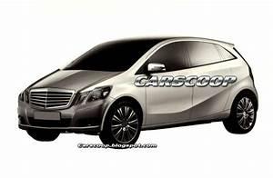 Futur Mercedes Classe B : future mercedes classe b est ce bien elle ~ Gottalentnigeria.com Avis de Voitures