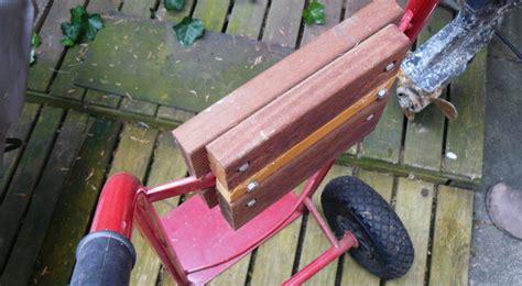 sackkarre mit motor au 223 enborder transportieren und lagern trolley und st 228 nder selbst gebaut