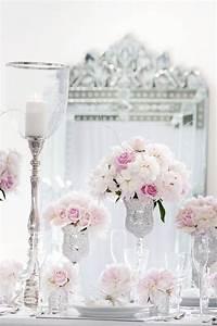 Deco Rose Pale : d co table mariage d 39 hiver 30 id es magnifiques et l gantes ~ Teatrodelosmanantiales.com Idées de Décoration